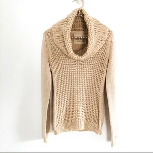 ANTHROPOLOGIE|Angel of the North Cowl Neck Sweater